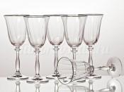 "Набор бокалов для вина из 6 шт.""анжела"" 250 мл. Crystalex"