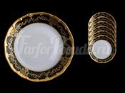 """Набор тарелок """"Ювел 801"""" 19см. 6шт."""
