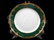 """Набор тарелок """"Ювел зеленый 876/3"""" 17см. 6шт."""