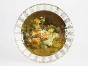 """Декоротивная тарелка 32 см """"Цветы"""""""