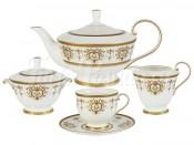 "Сервиз чайный на 6 перс. 17 пред. ""Тиара Голд"""