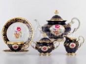"""Сервиз чайный """"С.Петербург 866"""" на 6перс.21пред.(подарочная упаковка)"""
