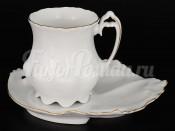 """Набор для чая 2 перд. """"Белый узор"""""""