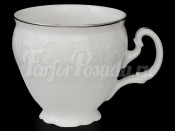 Чашка кофейная 170 мл Бернадотт Платиновый узор