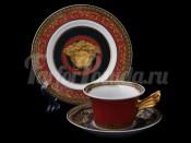 """Пара чайная """"Медуза""""(чашка220мл.+блюдце)"""