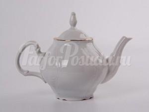 """Чайник 1,20  """"Белый Бернадотте"""""""