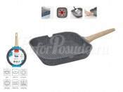 """Сковорода-гриль с антипригарным покрытием 28 см """"Mineralica"""""""