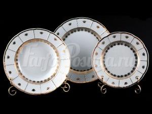 "Набор тарелок для сервировки стола ""Бернадот Натали 4400"" 18шт."