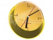 """Часы настенные 33 см """"Glamour"""" желтые"""