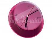 "Часы настенные 33 см ""Glamour"" фиолетовые"