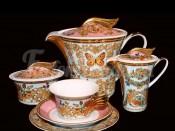 """Сервиз чайный """"Ле Жардин"""" на 6перс. 21пред."""