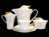 "Сервиз чайный ""Медальон Меандр"" на 6перс.21пред."