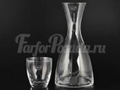 """Набор для воды """"Кристалекс"""" графин 1,2 и  6 стаканов"""