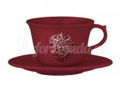 """Набор для чая 2 пред. """"Аральдо"""" бордовый"""