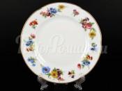 """Набор десертных тарелок 19 см 6 шт. """"Весенний цветок в золотой обводке"""""""