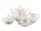 """Сервиз чайный на 6 перс. 15 пред.""""Чайная роза"""""""