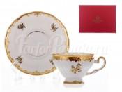 """Набор для чая 210 мл на 6 перс. 12 пред. """"Роза золотая 1007"""""""