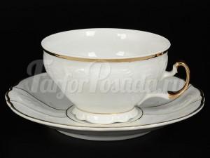 "Набор для чая 205 мл ""Золотое солнце"" Бернадотт на 6 перс. 12 пред."