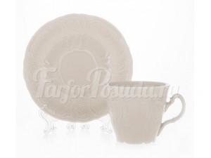 "Набор для чая 210 мл ""Бернадот Ивори 0000"" на 6 перс. 12 пред."