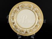 """Набор постановочных тарелок 27 см 6 шт.""""Cream porcelain Imperial Gold"""""""