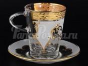 "Набор для чая 220 мл ""Версачи фон"" на 6 перс. 12 пред."