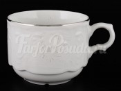 """Чашка чайная 250 мл """"Бернадотт Платиновый узор"""""""