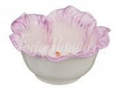 """Салатник 12 см """"Цветок"""" фиолетовый"""