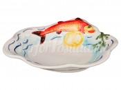 "Тарелка 23 см ""Рыбы"""