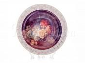 """Настенная тарелка 32см """"Цветы 7"""""""
