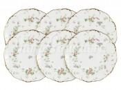 """Набор закусочных тарелок 23 см на 6 перс. 6 шт. """"Воспоминание"""""""