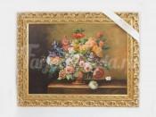 "Картина 50х70 см ""Цветы"" фарфор"