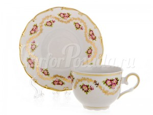 """Набор для чая на 6 перс.12 пред. 155 мл """"Золотой луг Офелия"""""""