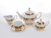 "Сервиз чайный на 6 перс.15 пред.""Карин синий"""