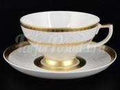 """Набор для чая 250 мл """"Diamond White Gold"""" на 6 перс. 12 пред."""