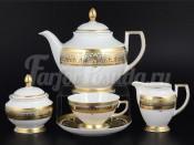 "Сервиз чайный ""Arabesq Greenshadow Gold"" на 6 перс. 15 пред."