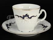 """Набор для чая 240 мл """"Синие Вензеля"""" на 6 перс. 12 пред."""
