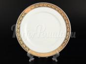 """Набор десертных тарелок 19 см 6 шт. """"Платиновая золотая лента"""" Кристина"""