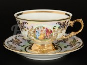 "Набор для чая ""Мадонна"" (чашка 200 мл и блюдце) на 6перс.12пред."