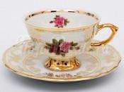 "Набор для чая ""Роза""(чашка140мл.+блюдце) на 6перс.12пред."