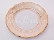 """Набор тарелок """"Лист белый"""" 24см. 6шт."""