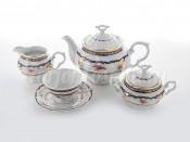"""Сервиз чайны """"Мария Луиза 7634600"""" на 6 перс. 15 пред."""