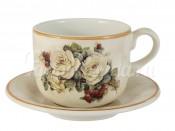 """Набор для чая 500 мл 2 пред. """"Роза и малина"""""""
