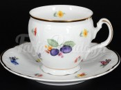 "Набор для чая 240 мл ""Бернадотт Слива"" на 6 перс. 12 пред."