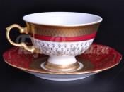 "Набор для чая ""Лилия пурпурная""(чашка200мл.+блюдце) на 6перс.12пред."