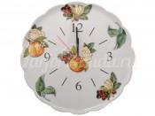 """Часы настенные 29,5 см """"Апельсины и Розы"""""""