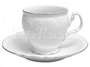 """Набор 6 чашек/6 блюдец 160 мл. выс. н/н """"Бернадотте 2021"""""""