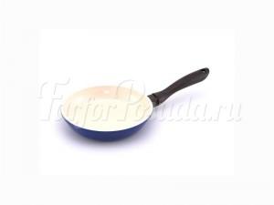 """Сковорода 20 см """"Marvia"""" синяя"""