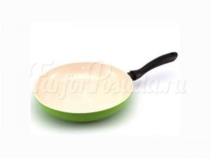 """Сковорода 30 см """"Marvia"""" зеленая"""