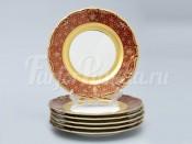 "Набор тарелок ""Лилия пурпурная"" 19см. 6шт."