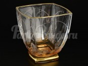 "Набор стаканов 320 мл 6 шт. ""Амбер золото"" Ареззо"